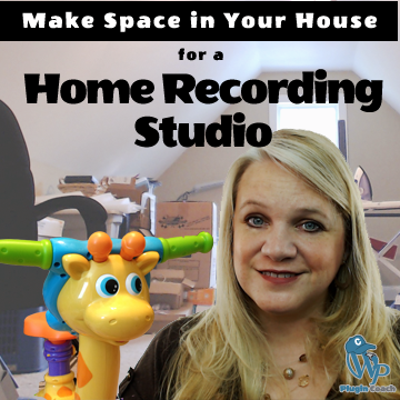 How to Make Space in Your House for a Home Recording Studio