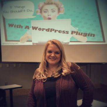 Slides from WordCamp Raleigh 2014: 5 Things You Shouldn't Do With A WordPress Plugin