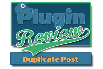 Duplicate Post WordPress Plugin Review