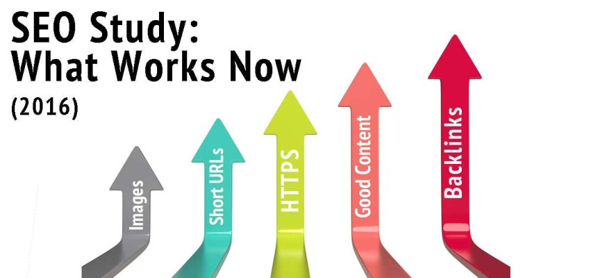 SEO Study: What Works Now (2016)
