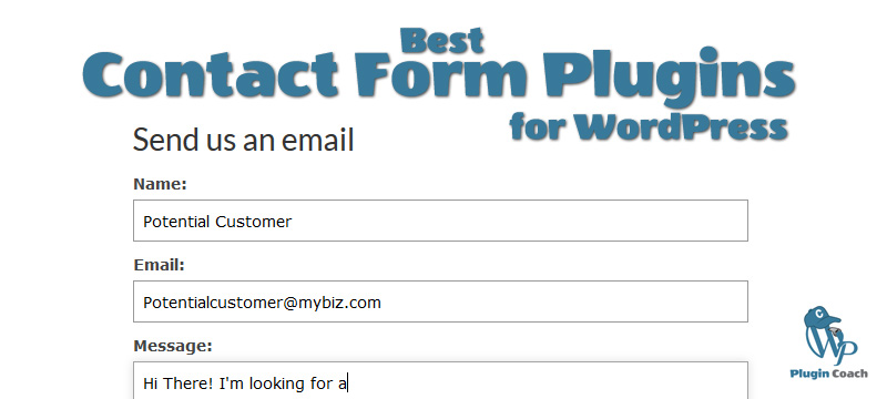 Best Contact Form Plugins for WordPress